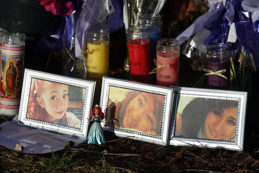 Services today for teen sisters killed in Newport Beach car crash