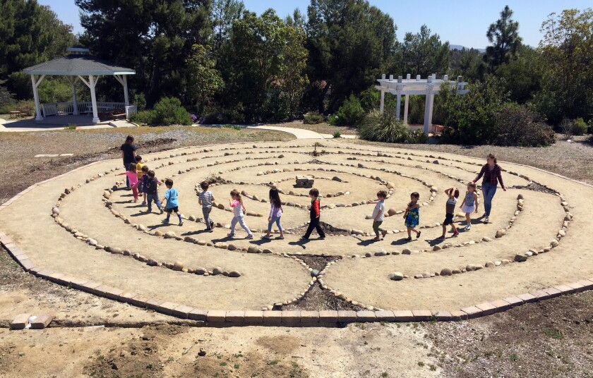 stone labyrinth
