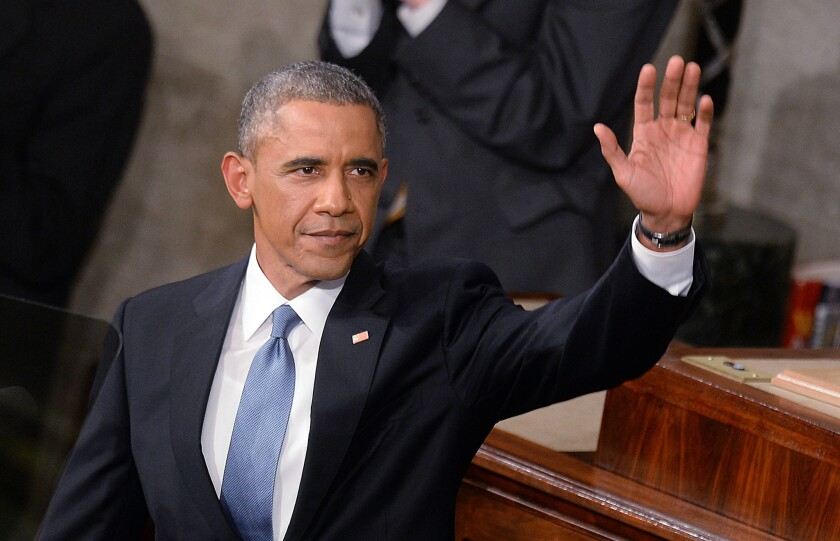 President Barack Obama delivers the State of The Union address on Tuesday in the House Chamber of the U.S. Capitol in Washington, D.C.
