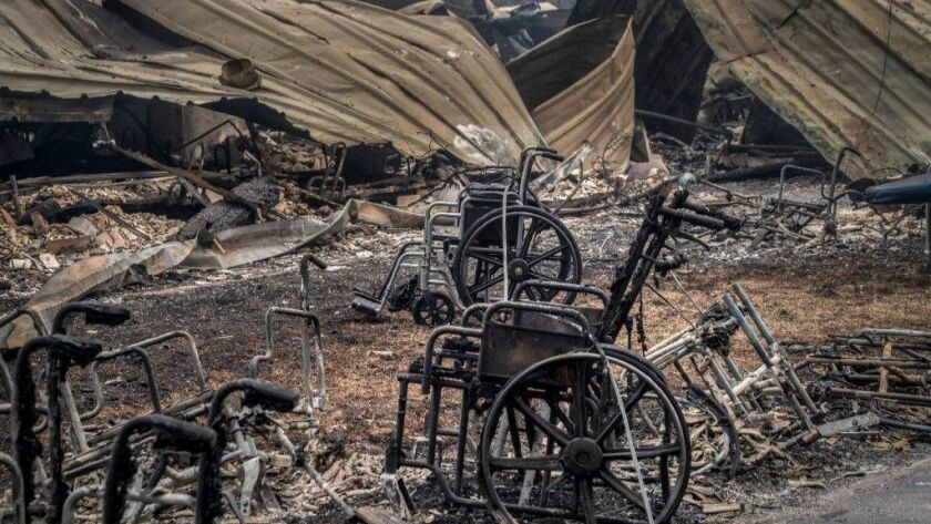Many of the dead in Camp Fire were disabled. Could they have been saved?