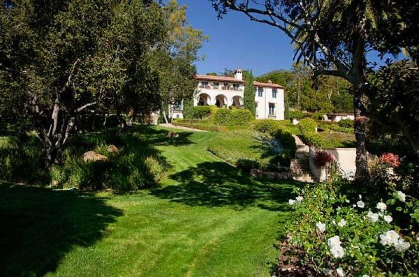 La Quinta, a 1920s Mediterranean-style villa on seven acres in the Montecito area, is priced at $29 million.