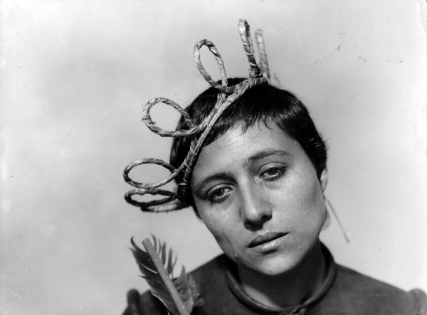 "Maria Falconetti. ""The Passion of Joan of Arc"" - Charles Lapworth Collection. Courtesy of Diane Lapw"