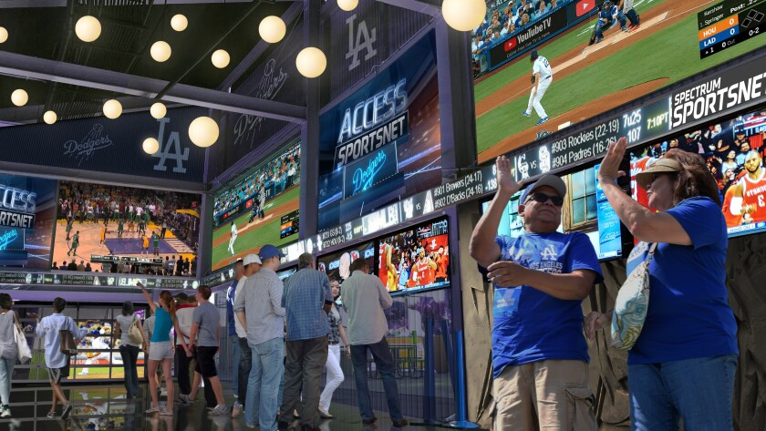 The renovated Dodger Stadium will be well equipped once sports betting becomes legal in the state of California.