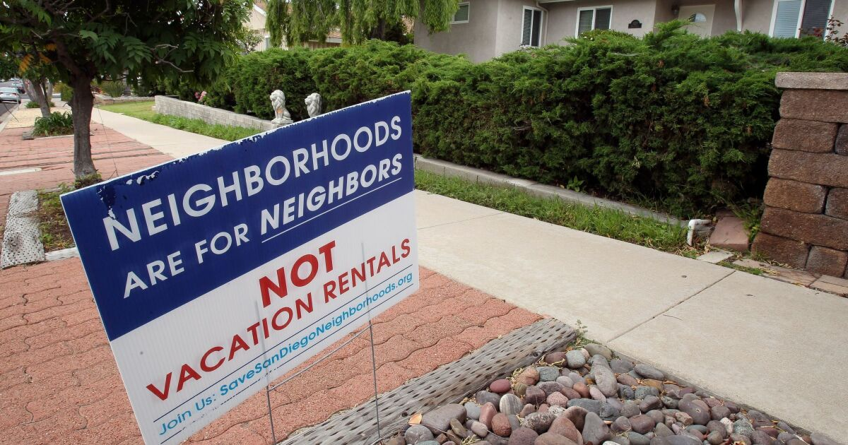 Readers React: San Diego must enforce our laws on short-term rentals