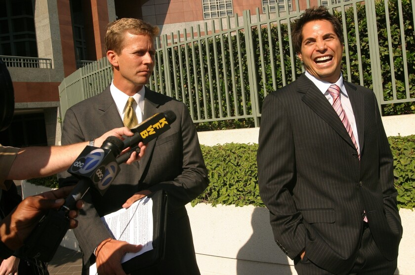 Joe Francis in L.A. in 2006.
