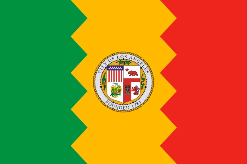 City Flag of Los Angeles