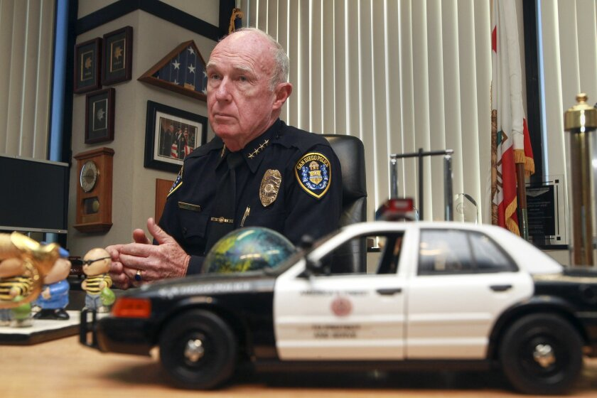 Then-San Diego Police Chief Bill Lansdowne discusses the rash of misconduct cases involving officers and how he plans to continue to address the issue.