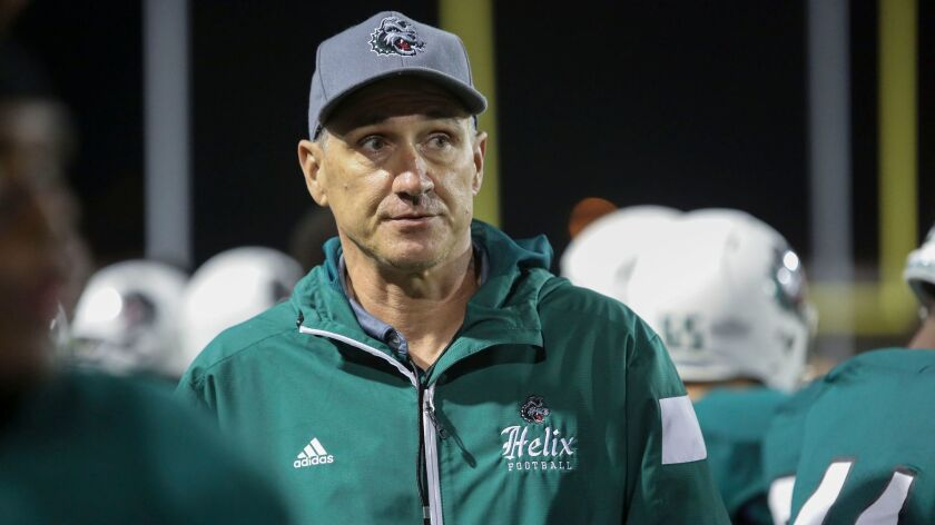 Troy Starr compiled an 83-18-1 record at Helix with the Highlanders reaching the San Diego Section semifinals all eight seasons.