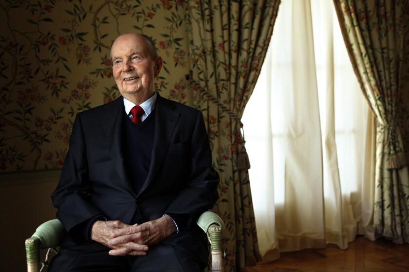 Billionaire A. Jerrold Perenchio.