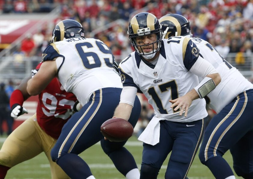 The good news for the Los Angeles Rams offense: It has a lot of room for improvement