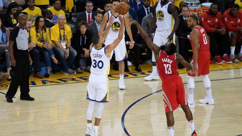 Houston Rockets v Golden State Warriors - Game Three