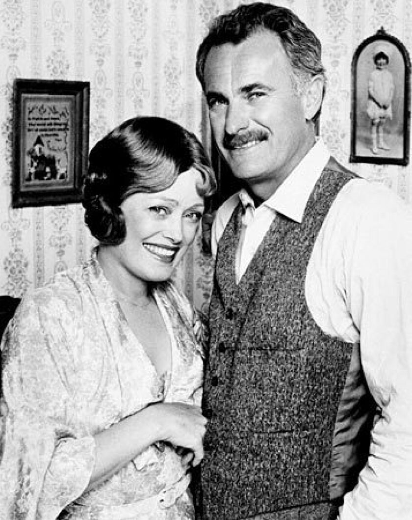 "Rue McClanahan, left, and Dabney Coleman are shown in the 1978 comedy ""Apple Pie."" McClanahan, the Emmy-winning actress who brought the sexually liberated Southern belle Blanche Devereaux to life on the hit TV series ""The Golden Girls,"" died Thursday. She was 76. See full story"
