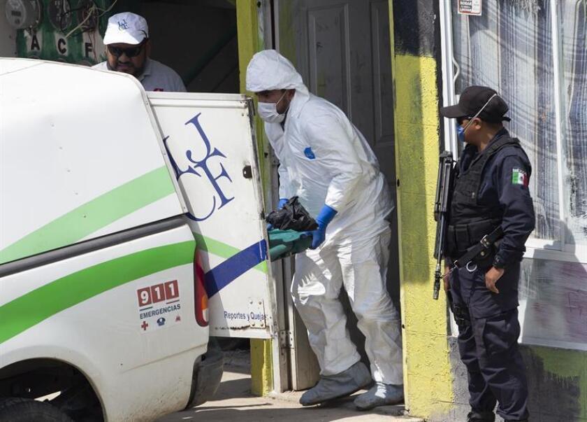 En ciudades como Nuevo Laredo, Reynosa y Matamoros, en la línea fronteriza con Estados Unidos, ocurren frecuentemente tiroteos entre grupos criminales, así como enfrentamientos entre delincuentes y fuerzas de seguridad. EFE/Archivo