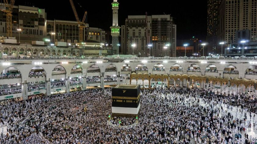 In pre-Islamic times, the Kaaba, Islam's holiest shrine, was used to house pagan idols worshiped by local tribes.