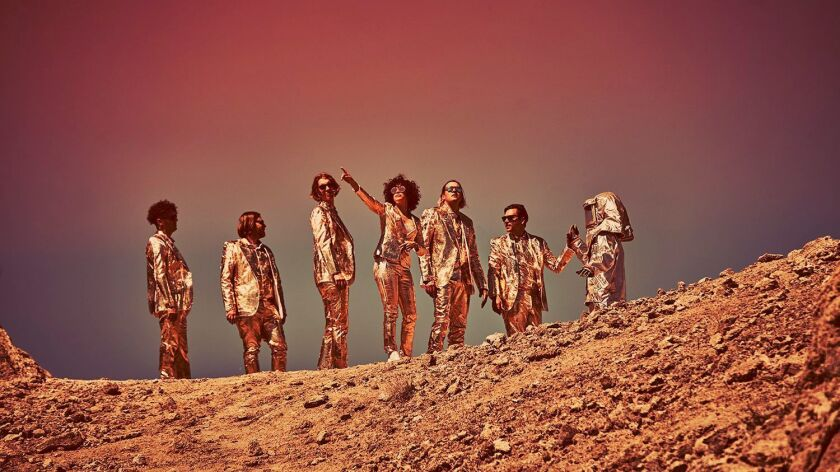 "Arcade Fire's new album is ""Everything Now."""