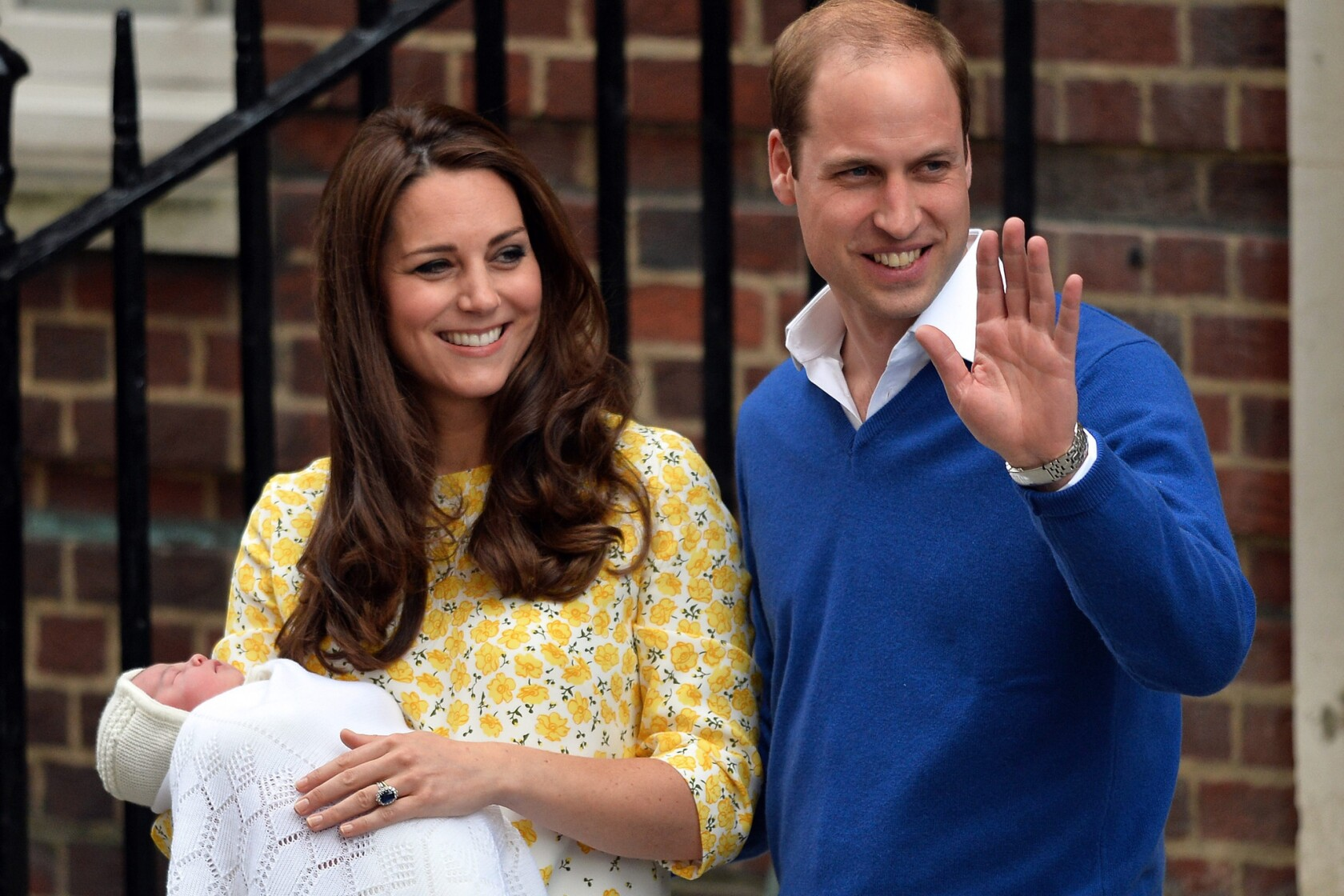 Dutiful husband Prince William takes over pregnant Kate's Malta trip