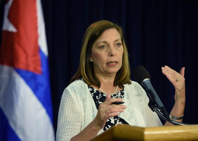 En la imagen, la directora general para Estados Unidos del Ministerio de Exteriores de Cuba, Josefina Vidal. EFE/Archivo