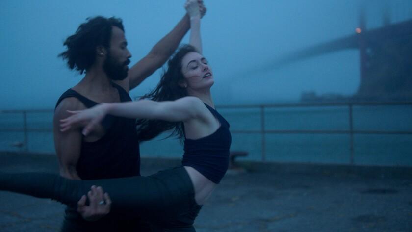"""Ellen Rose Hummel and Daniel Deivison-Oliveira in Benjamin Millepied's film """"Dance of Dreams."""""""