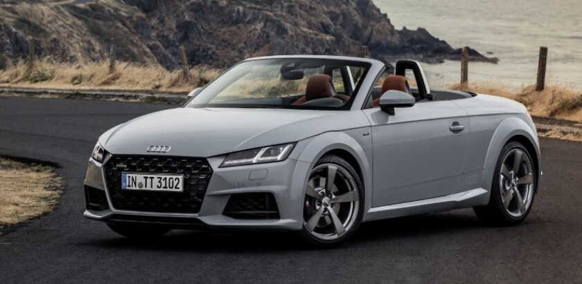 With a choice of two paint colors — Aviator Gray pearl or (exclusive to the U.S.) Nimbus Gray metallic, the 2019 Audi TT 20th Anniversary Editions have an MSRP of $53,895 for the coupe and $57,795 for the roadster.