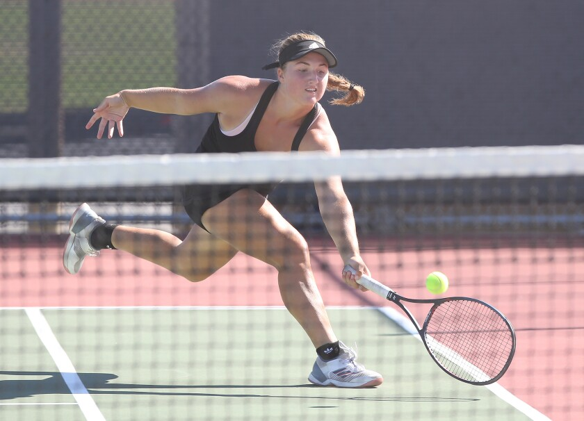 Huntington Beach girls' tennis loses to Woodbridge in tiebreakers