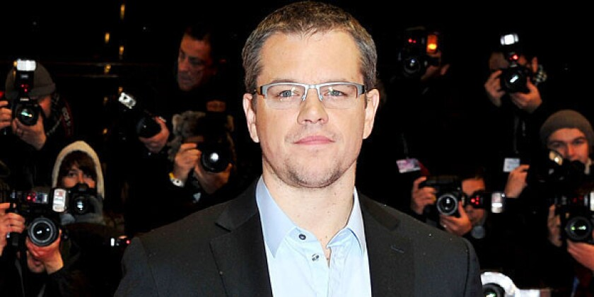 Matt Damon's water charity hopes video campaign will go viral