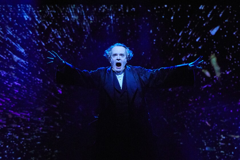 "Jefferson Mays stars in ""A Christmas Carol."""