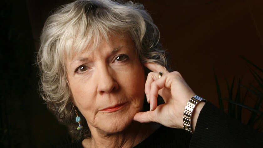 Mystery writer Sue Grafton, shown in 2009, died Thursday after a two-year battle with cancer. She was 77.