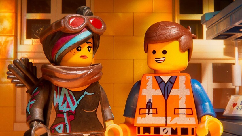 "A scene from Warner Bros.' ""The Lego Movie 2: The Second Part."""
