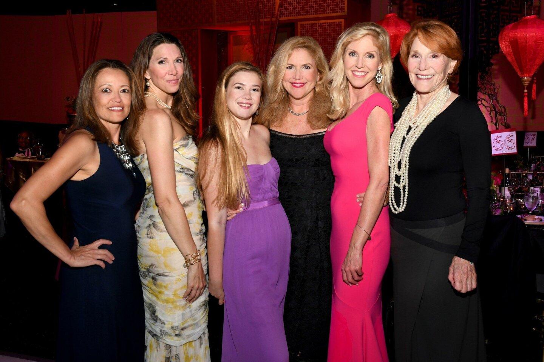 Marie Browning, Michelle Conway, Alexandra Ferguson, Diana Hall Ferguson, Nicole Hall, Judy Hall