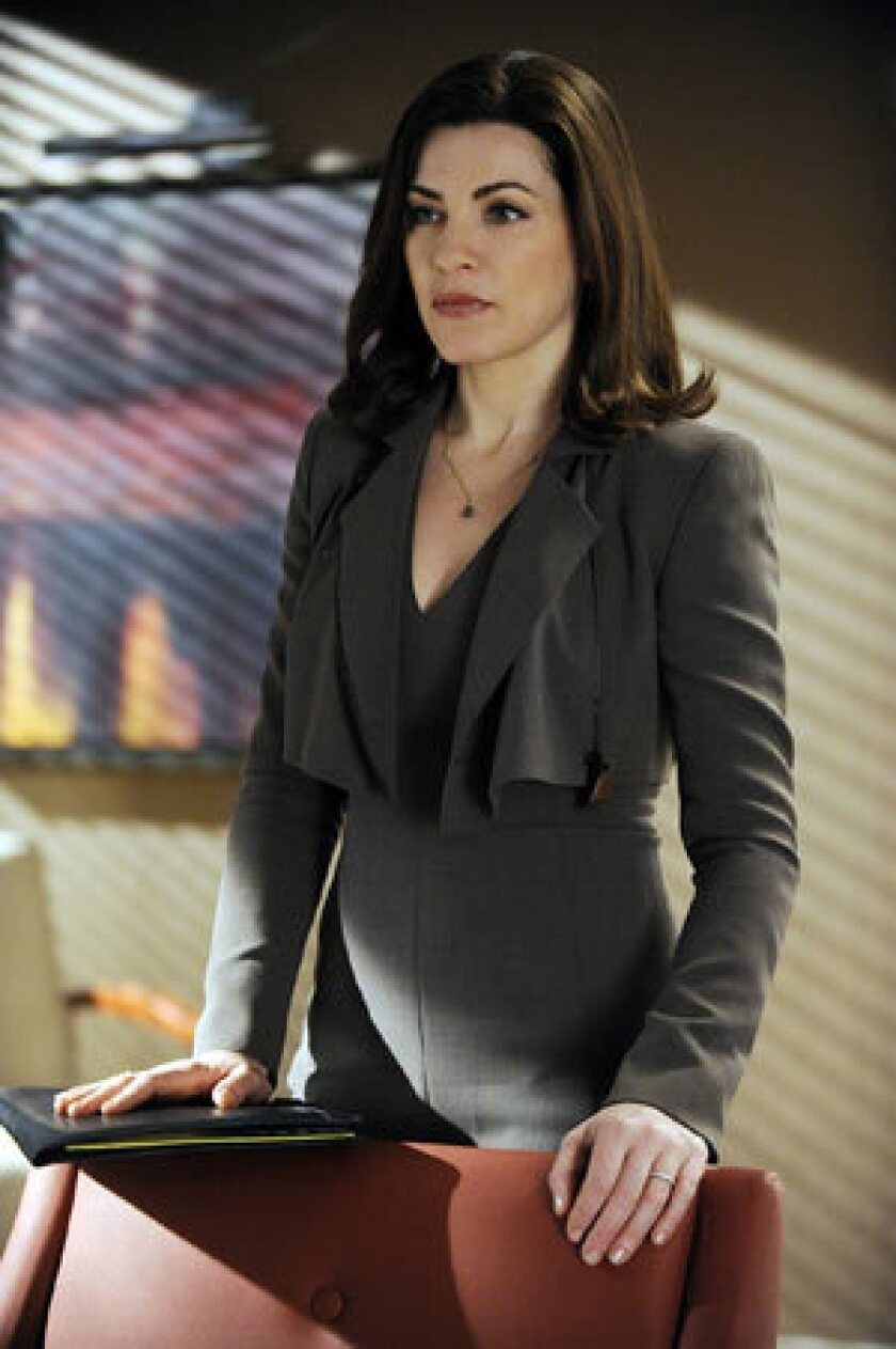 """CBS' """"The Good Wife"""" features the best-dressed career women in television, including Juliana Margulies as Alicia Florrick."""