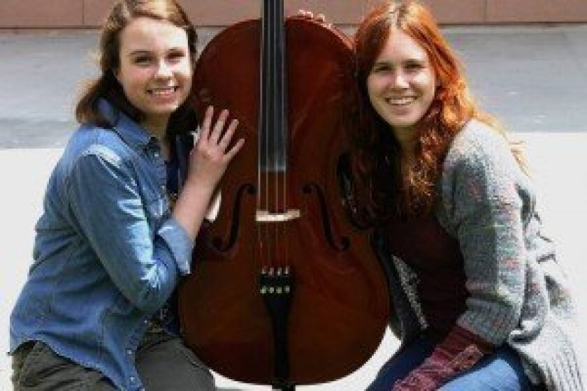 Annika Patton and Emily Laliotis. Courtesy photos