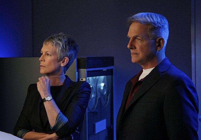 """Fans are hoping """"NCIS"""" won't bring back Jamie Lee Curtis (here with series lead Mark Harmon) following the exit of Cote de Pablo."""