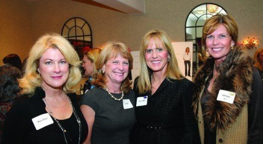 Marian Benassi, Sue Major, Nancy Hillgren, Holli Banks (Photo: Jon Clark)