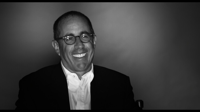 """Jerry Seinfeld in """"Dying Laughing."""""""