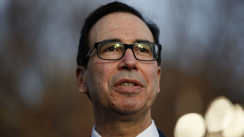 Treasury Secretary Steven T. Mnuchin