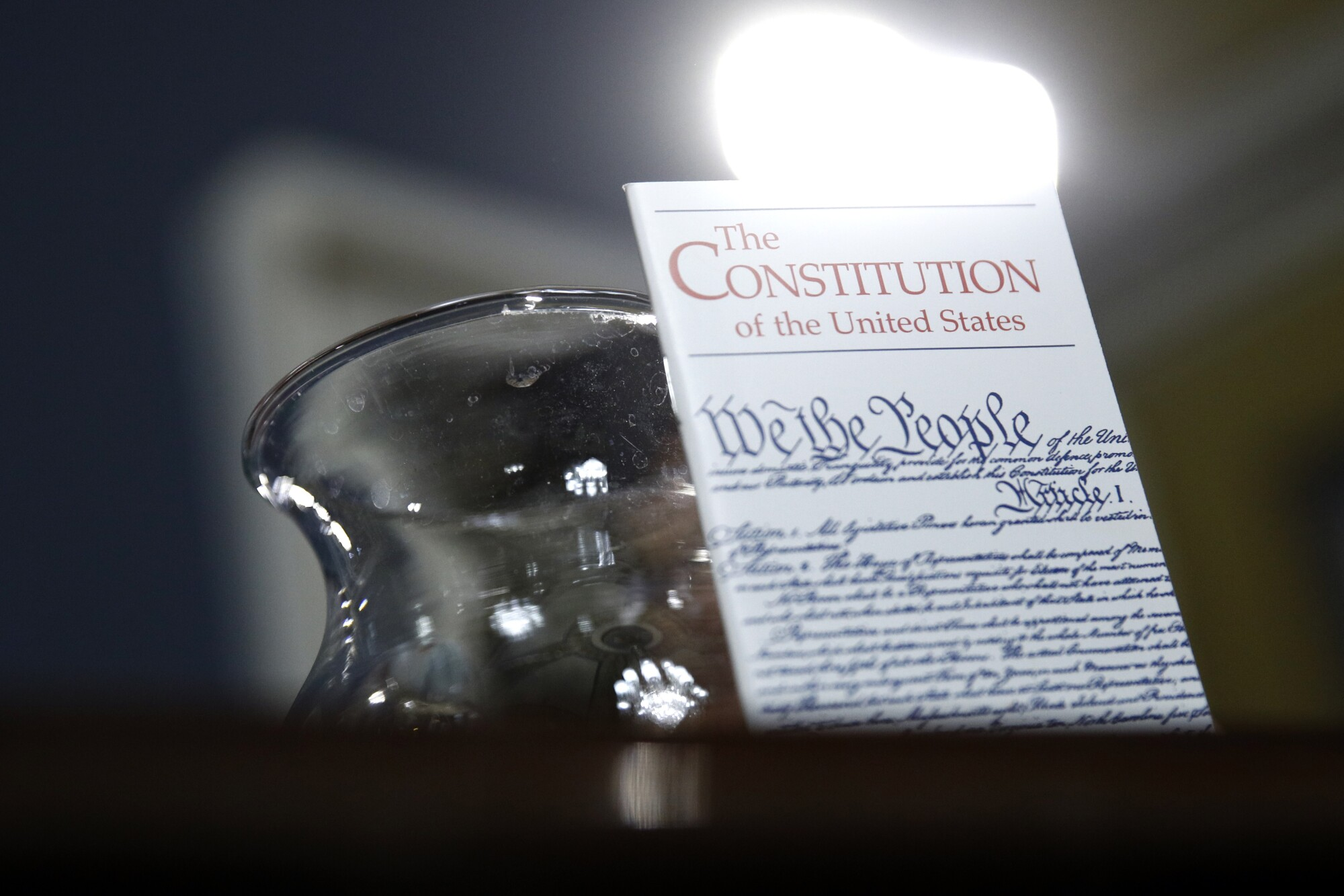 A copy of the Constitution