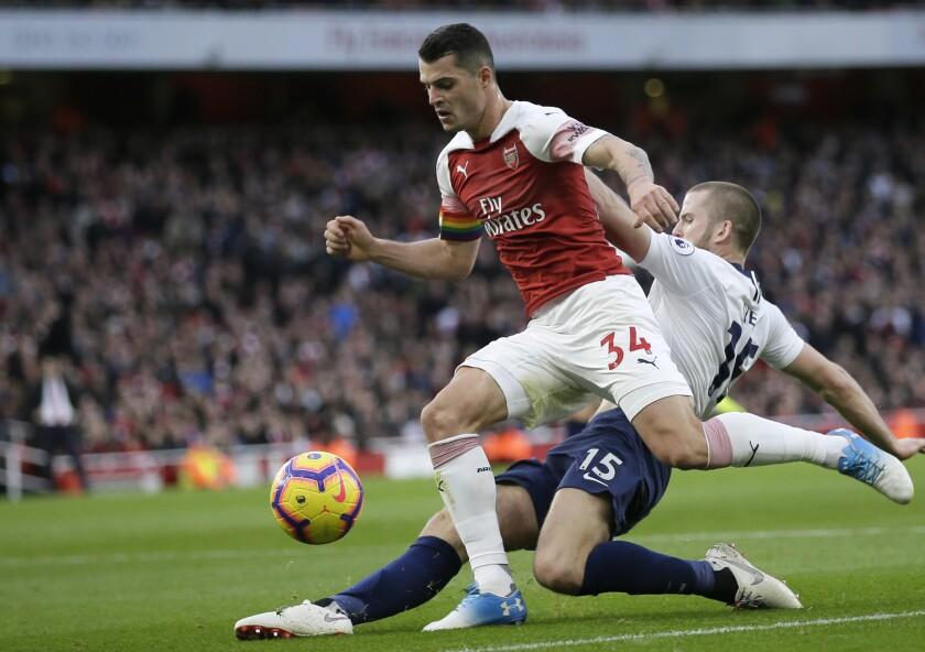 Soccer Arsenal Xhaka
