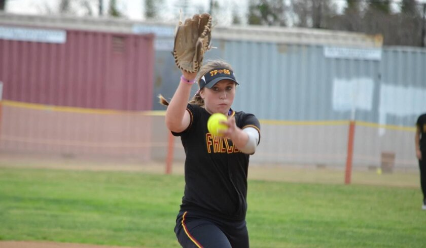Despite being limited to 58 innings this spring because of her diabetes, Kiley Rose was 9-2 with a 2.64 ERA as a sophomore.