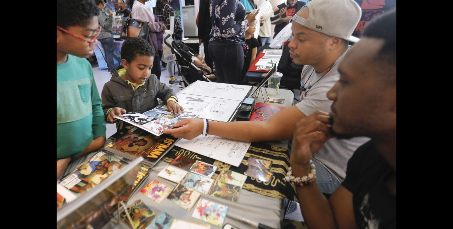 Black Comix Day 2019 in San Diego