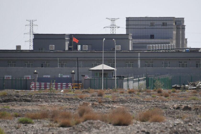Uighur detainees