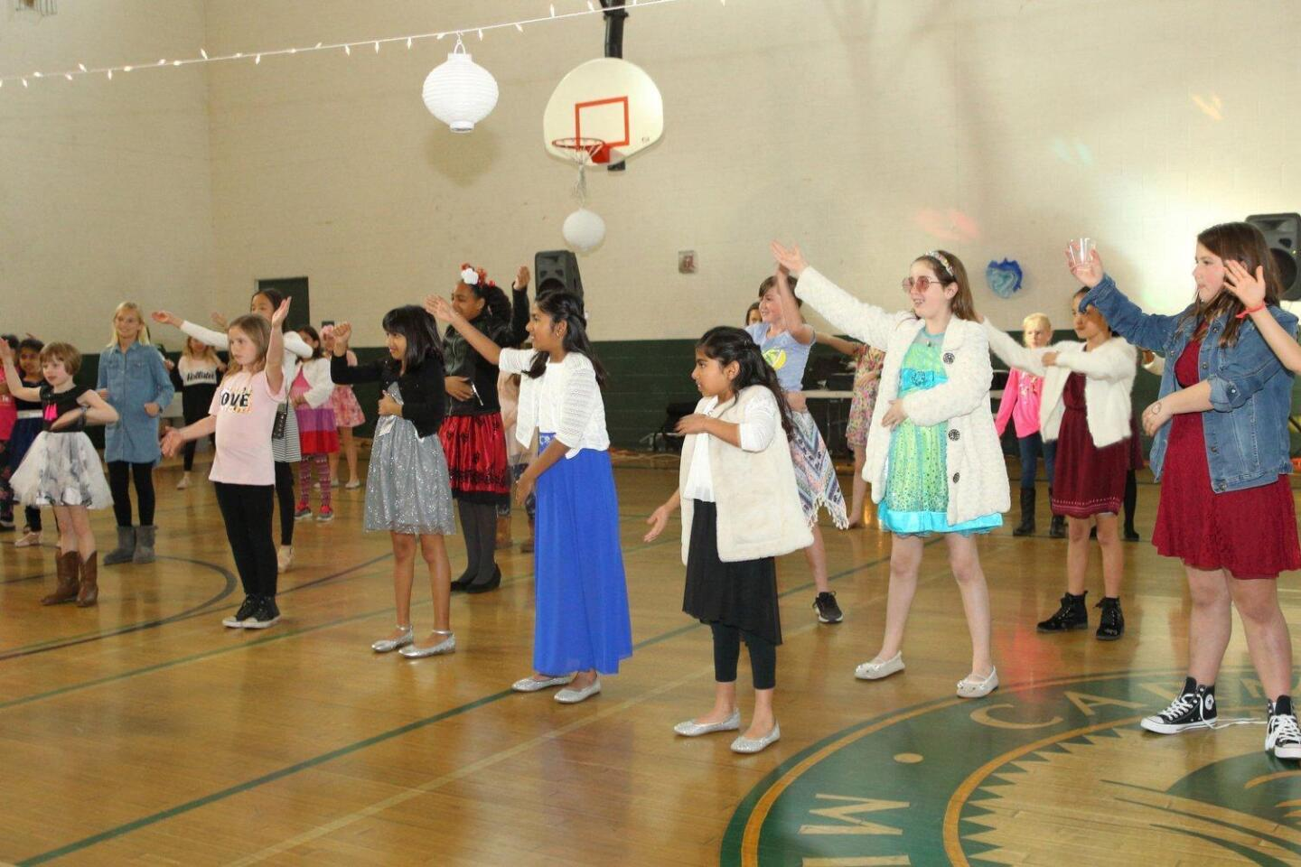 Girls Scouts 'Me and My Date Dance Afternoon Tea Party'