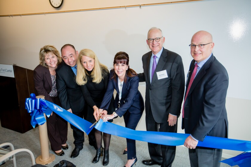 Hazelden Betty Ford Foundation representatives cut the ribbon at the new San Diego facility.