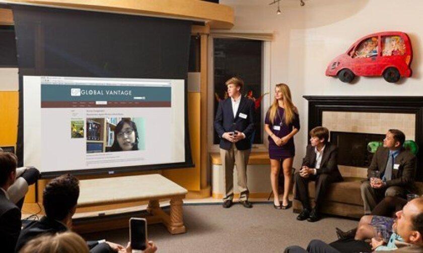Pacifc Ridge School Global Journal Project — Web site launch presentation.