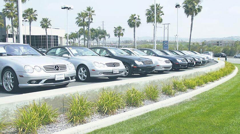 Fletcher Jones Motorcars in Newport Beach Wednesday