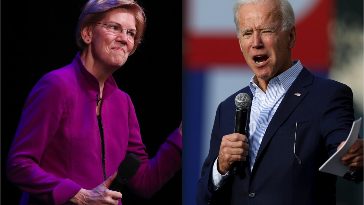Warren and Biden lose ground in California's shifting 2020 Democratic race