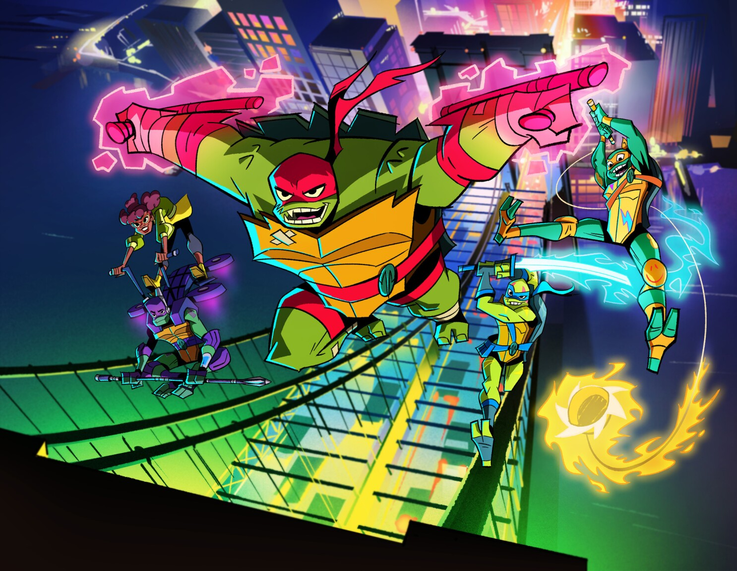 Get A First Look At The New Rise Of The Teenage Mutant Ninja