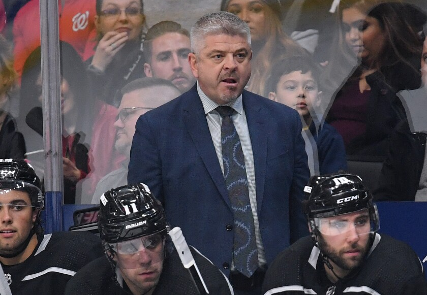 Kings coach Todd McLellan had guided the team to seven consecutive wins before the NHL suspended the season Thursday because of the coronavirus pandemic.