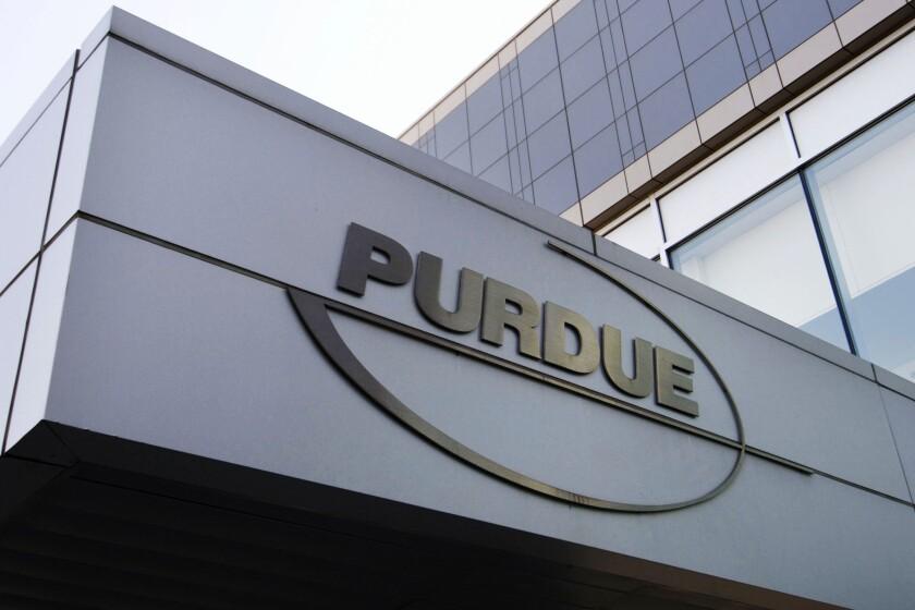Opioids Crisis Purdue Bankruptcy