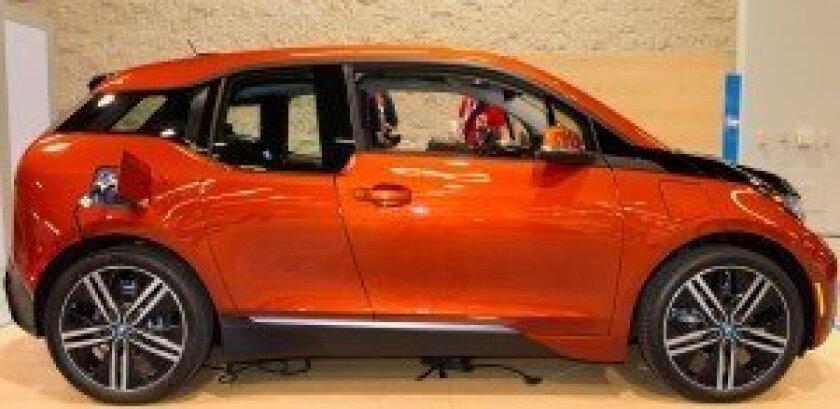 BMW i3 North American debut