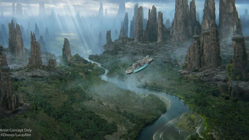 Black Spire Outpost is the name of the village inside of the upcoming Star Wars: Galaxy's Edge at
